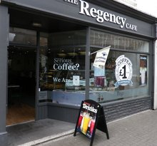 ‪The Regency Cafe‬