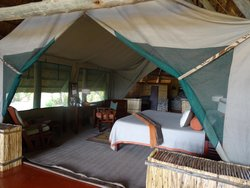 Bedroom portion of Banda 6B