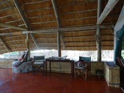 Verandah lounge area (Banda 6B)