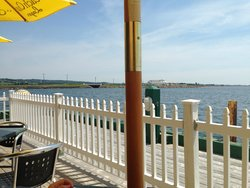 Beachcombers on the Wharf