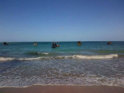 Praia proxima a pousada