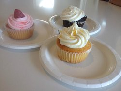 Corolla Cupcakes