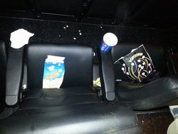 This is the movie theater at the start of our movie. .. guess we get to enjoy our movie in a ver