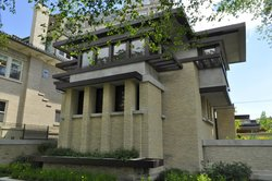 Emil Bach House by Frank Lloyd Wright