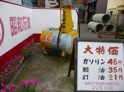 昭和37年のガソリン価格