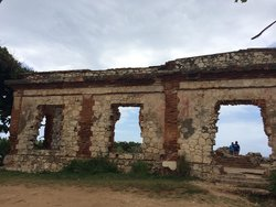The Old Aguadilla Lighthouse Ruins