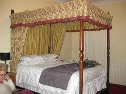 Charming four-poster bed