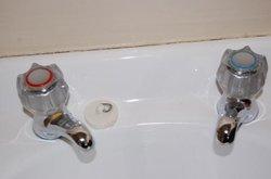 old-school faucet: freeze or burn?