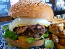 Burger Craft at The White Ferry