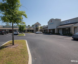 Street at the Staybridge Suites Gulf Shores