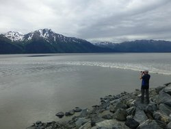Bore Tide in Turnagain Arm