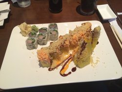 Angry Dragon Roll & Yellowtail Side