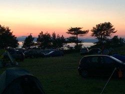 Campsite was quiet at night!