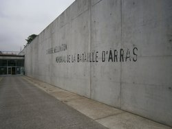 The Wellington Quarry, Memorial to the Battle of Arras