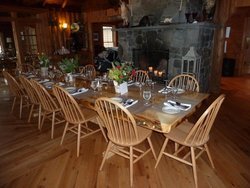 Bald Mountain Camps Dining Room