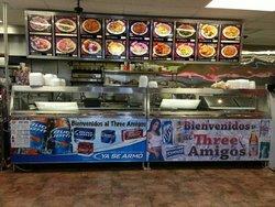 3 Amigo's Asian Grill