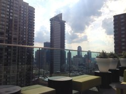 Complimentary Drink on the Roof Top Bar