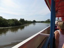 Sail down the Emajogi River on the Pegasus Day Tours