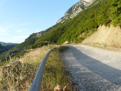 Scenic road around