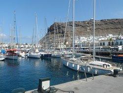 the marina at Mogan
