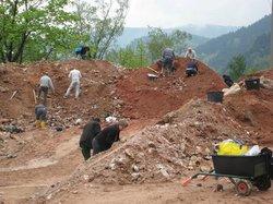 Mineralienhalde Grube Clara UG