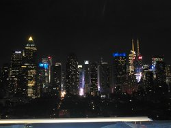 Vista de Manhattan desde el Roof Top Lounge
