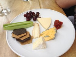 Cheeses - chosen from trolley