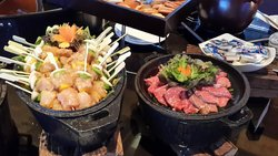 周末的海鲜自助餐