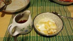 Dessert suivi d'un thé gracieusement offert