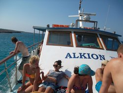 Alkion Glass Bottom Latchi Boat Cruises