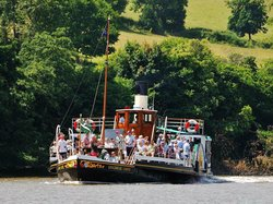 Paddle Steamer Kingswear Castle