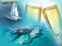Cruise Ship Excursions - Champagne Catamaran