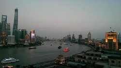 View from Sir Elly's Terrace Bar, Shanghai.