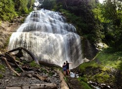 Bridal Veil Falls Waterfall