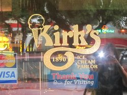 Kirk's 1890 Ice Cream Parlor