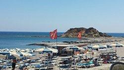 La spiaggia...