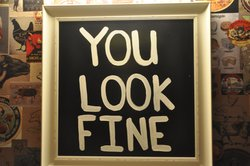 the bathroom 'mirror'