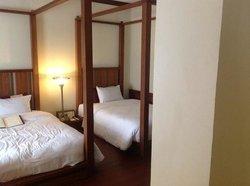 サクラルーム。ベッドが低め