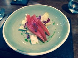 Cartmel Valley smoked salmon