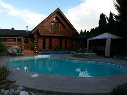 Pool / Back of lodge