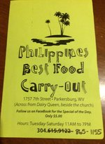 Phillipines Best Restaurant and Carry Out