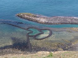 Twin-Hearts Stone Weir