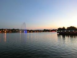 Der See am Abend
