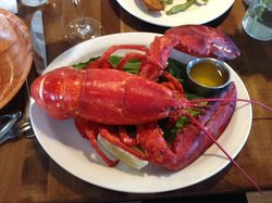 Boiled Lobster Dinner - delicious!