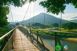 ‪Tamparuli Suspension Bridge‬