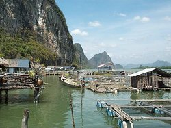 Baie de Phan nha