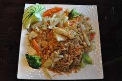 Fusion Japanese and Thai Cuisine