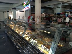 Ready for Breakfast Lunch and Dinner at Waroeng Bandeng Juwana Elrina on 2nd floor of the food s