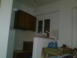 The kitchen sector of the room