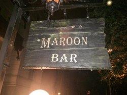 Maroon-Bar